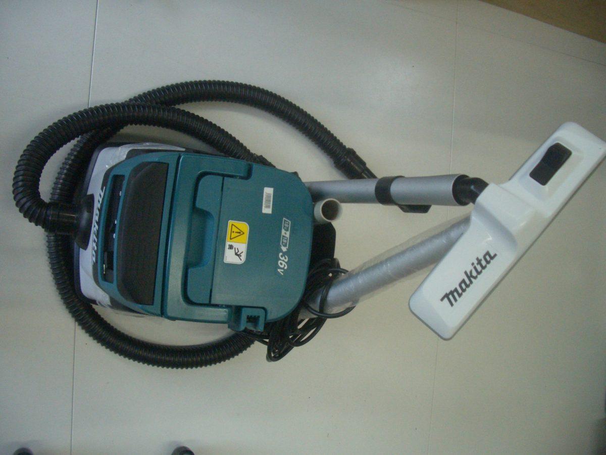 マキタ 18V+18V充電式 ハイブリッド集じん機(乾湿両用)