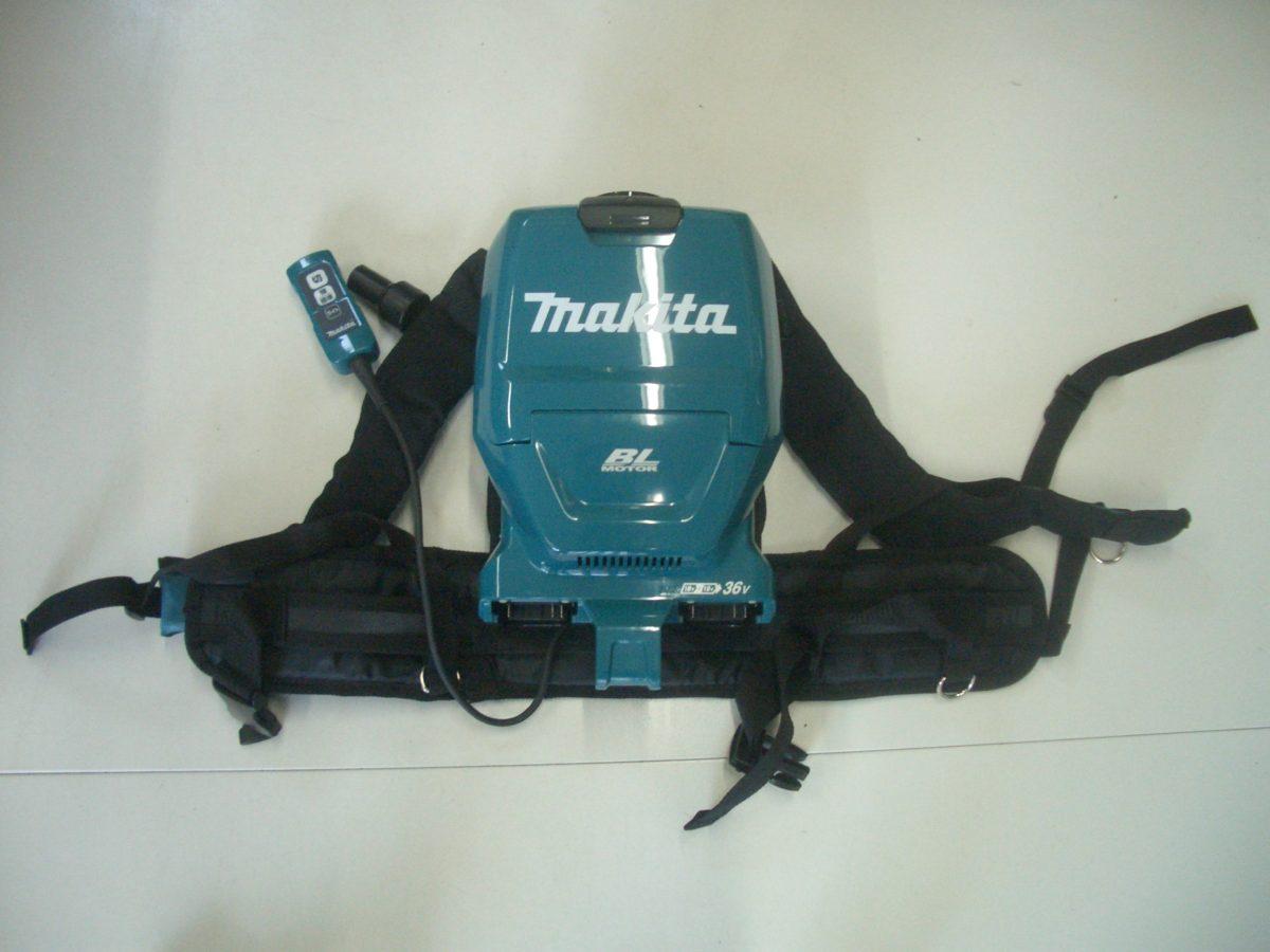 マキタ 18V+18V充電式 背負い集じん機(粉じん専用)