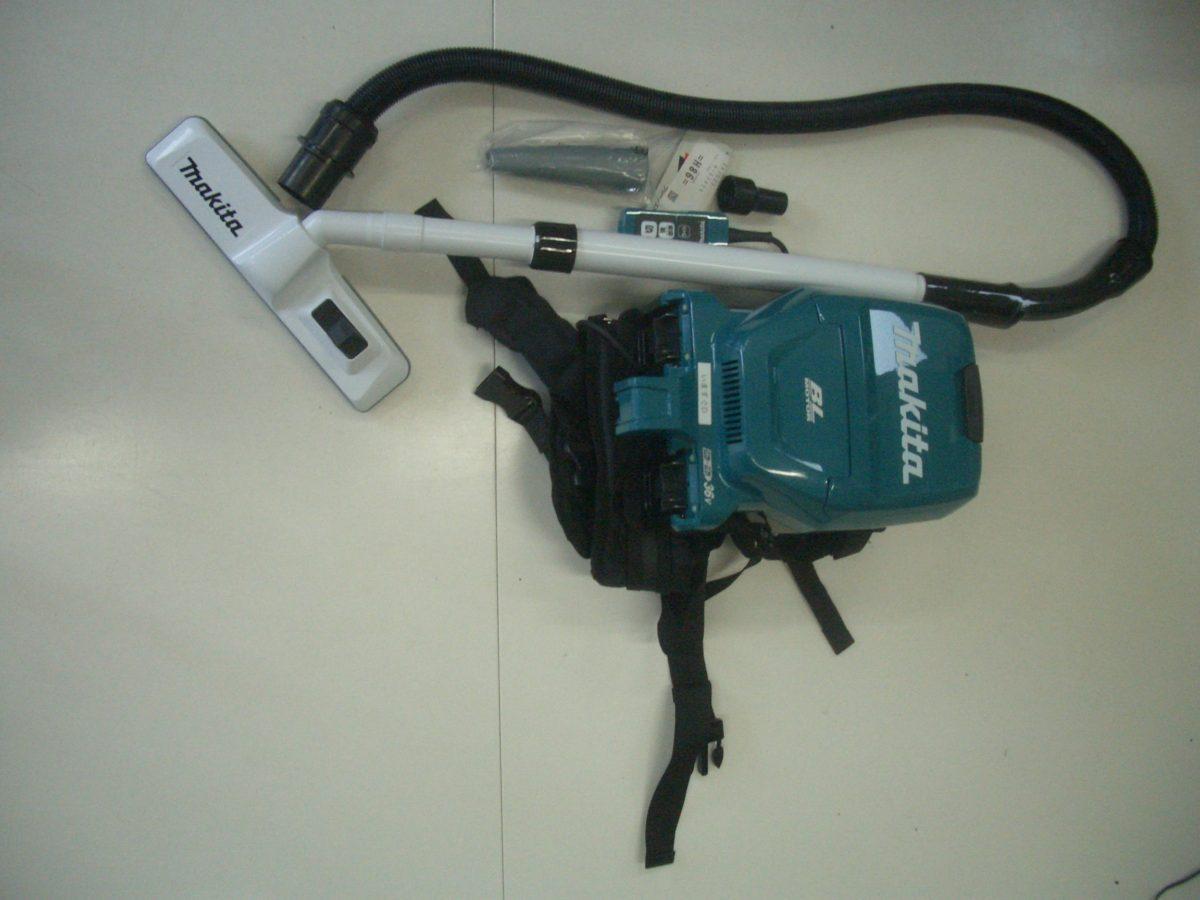 マキタ 18V+18V充電式 背負いクリーナー